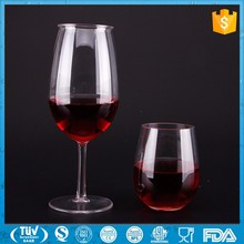 Manufacturers Custom Handmade fancy drinkging glass cup novelty wine goblet clear