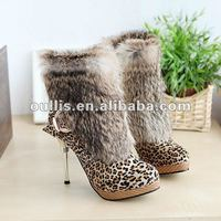 ladies elegant footwear fashion boot latest 2012 women shoes XW240