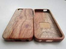2012 new arrival Natural Bamboo Wood Hard Case Cover for iPhone5