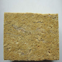 Heat insulation rock wool lamella