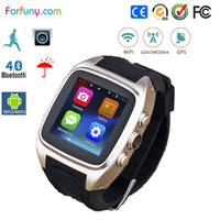 Best price andriod 4.4 watch wifi wrist watch cell phone smart gps tracking watch with high quality