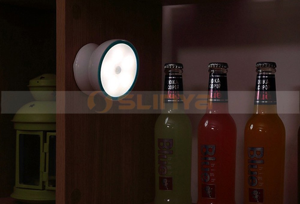 360 Degree Rotating Intelligent Sensing Magnet Corridor Night Light