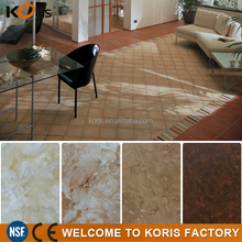 Scratch-resistant solid surface sheet, acrylic solid surface, cultural marble for indoors floor