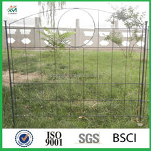 Removable iron fence, cheap gate for garden