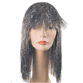 Customized Foil Wholesale Cheerleading Garland Multicolor Metallic Tinsel Wigs