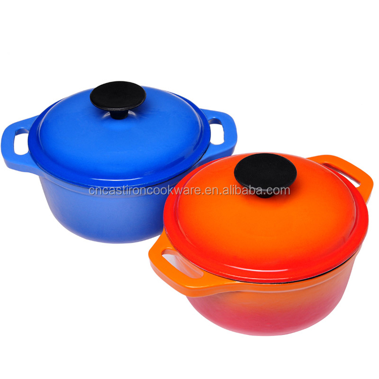 Cast Iron casseroles saucepan skillet dish pan frying pan enamel kitchenware and cookware