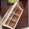 Handcrafted Wooden Beer Glass Carrier Holder