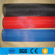 fine black flexible pvc coated woven fiberglass insect mesh screen