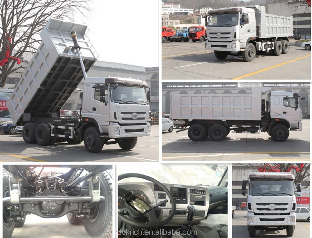 375hp Sitom owner 6x4 35 ton dump tipping trucks for sale