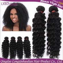 100% Virgin Malaysian Hair deep Weave Curly virgin remy hair