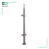 Standard Size pipe stainless steel handrail design for stairs