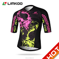 2016 New Cutting customized Fluo sublimation cycling jersey
