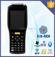 Handheld WinCE PDA with RFID/Barcode Scanner/WIFI/GPS/GPRS