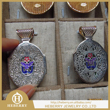 Crystal pendant with enamel new design for new fashion in 2015