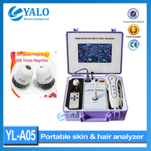 7 inch LCD screen Analizador de piel y cabello & Skin and hair analyzer