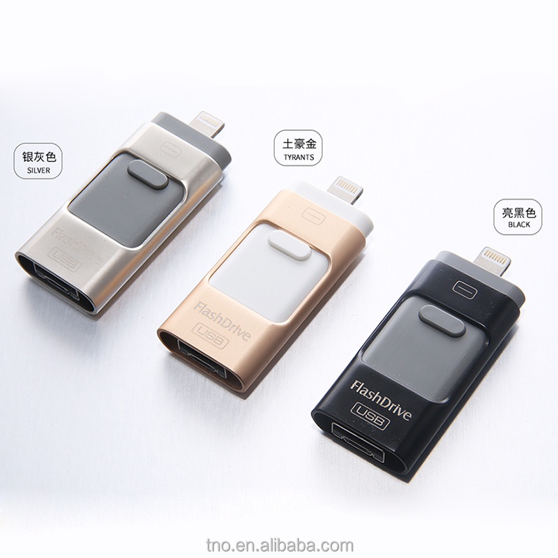 Newest OTG pendrive 32gb64gb 3 in 1 OTG USB Flash drive
