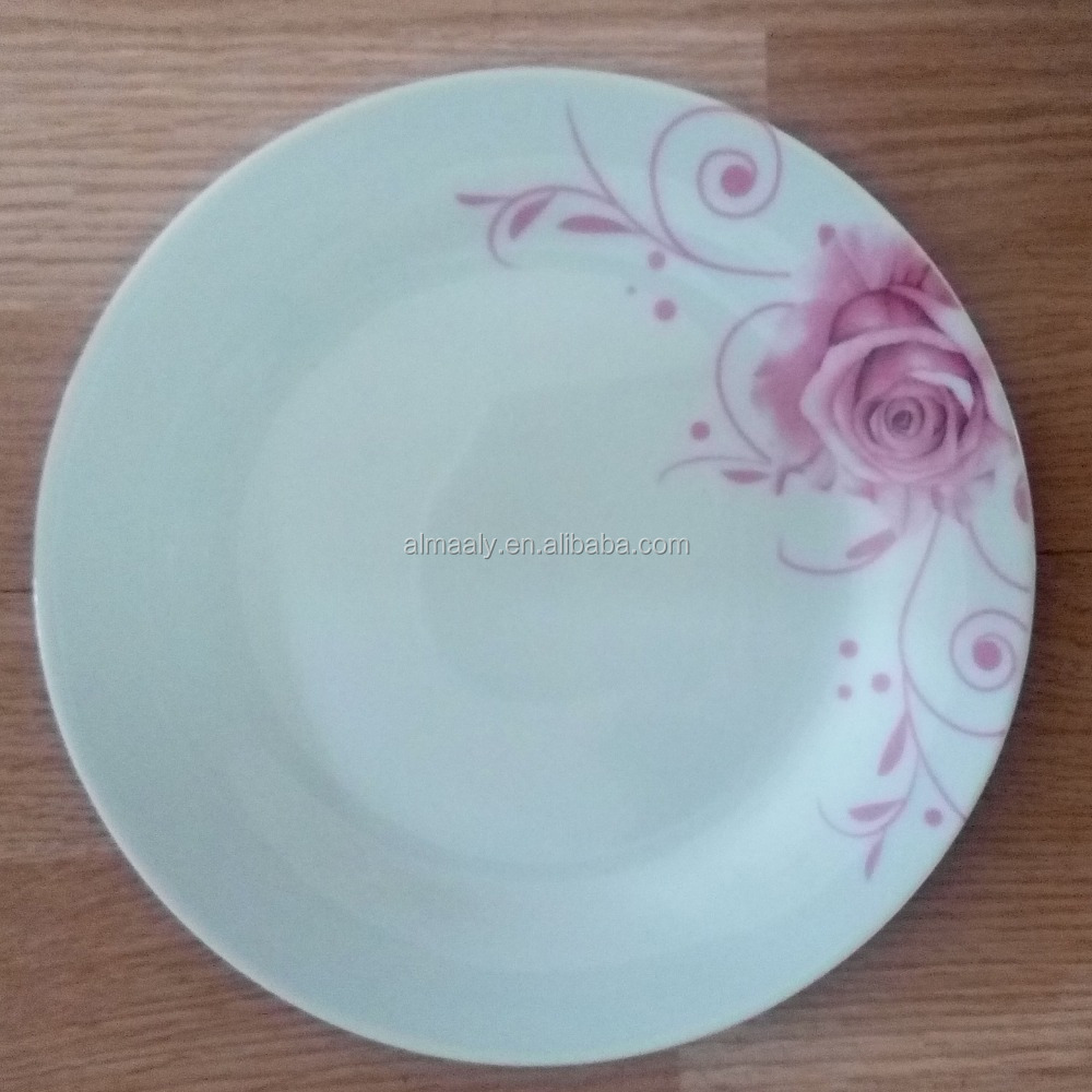 heat restaurant ceramic white dinner plates and dishes