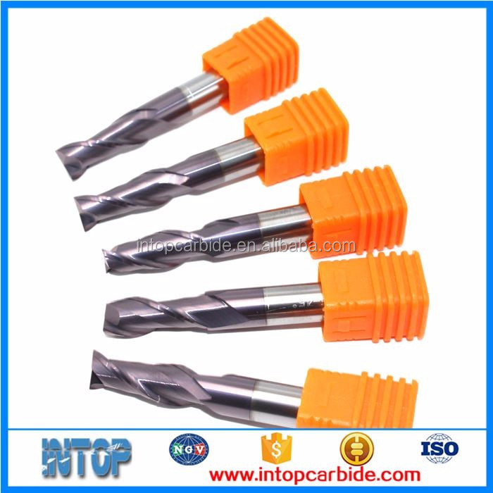 China gold manufacturer Bottom price tungsten carbide end mill cutter sizes