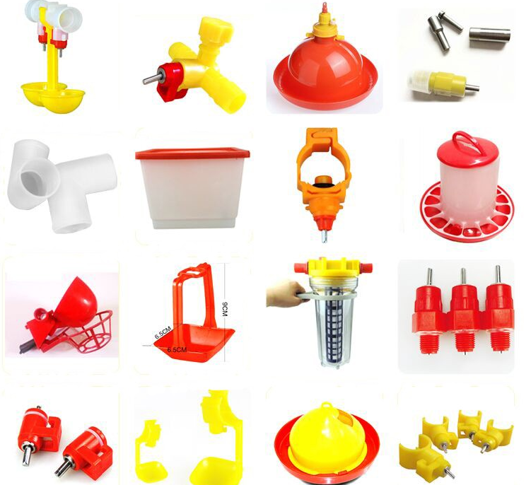 Hot sale spring type poultry nipple drinker for chicken farm equipment