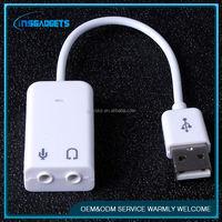 7.1 ch channel usb sound ,H0T319 usb sound card usb 7.1 wifi adapter audio card , 3d audio sound