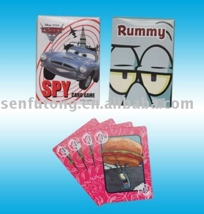 New design china cheap custom printed information game card