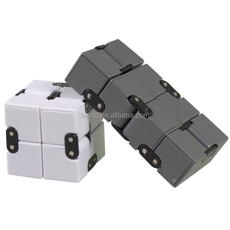 EDC magic square fidget cube Infinity cube toys with reduce anxiety desk fidget toy