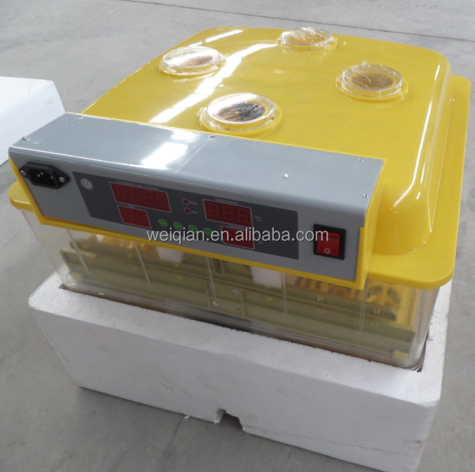 The new condition CE certificate MiNi incubator Hatchery machine broiler 96 pcs chieken eggs WQ-96