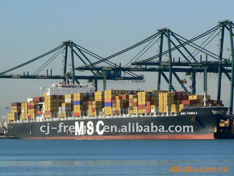 container sea freight shipping from China to Dubai / Bangkok /Busan / Ho chi minh FCL / LCL