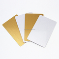 Blank RFID blocking card credit card protector with personalized design