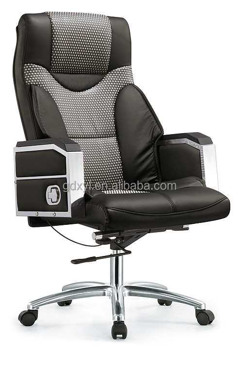 Far infrared leather office chair