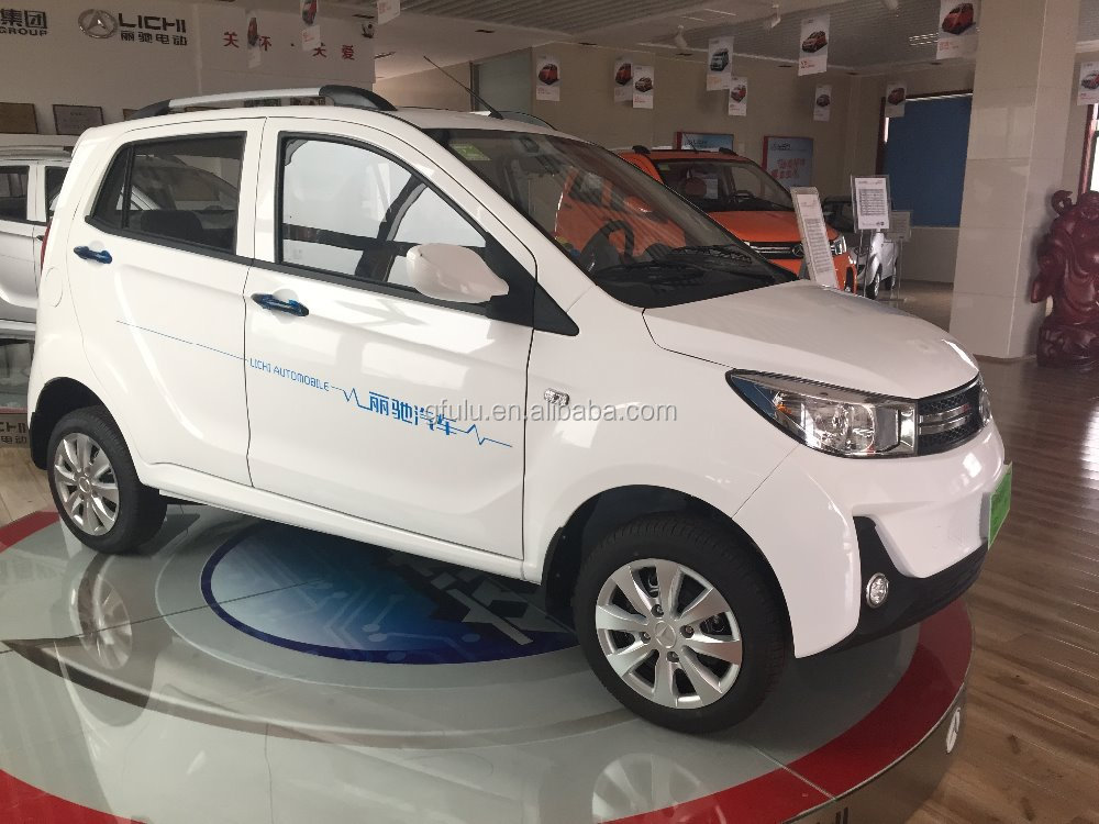 China Fulu brand 4 wheel cheap electric car for adult/5.6kw passenger use 4 seats electric vehicle