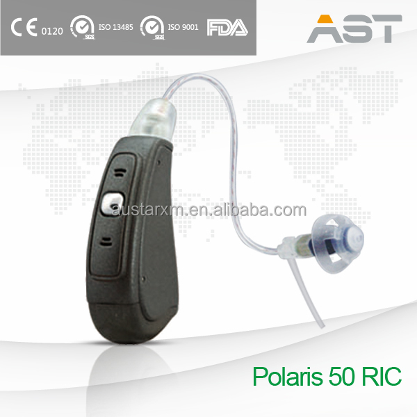 Polaris 50 AST Factory 2016 Updated Hearing Aid RIC Receiver in Canal