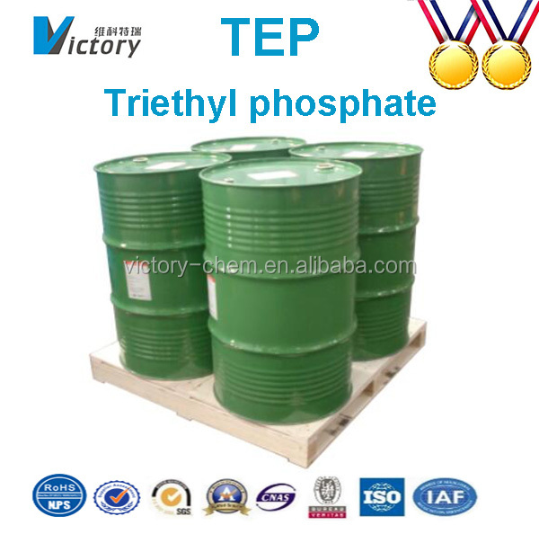 Competitive price Chemical Plant Triethyl Phosphate For Fire Retardant with high quality