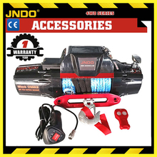 4wd Offroad jeep suv 12000lb IP67 similar with WARN winch synthetic rope