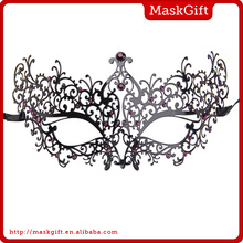 Canival party mask metal princess mask for decoration
