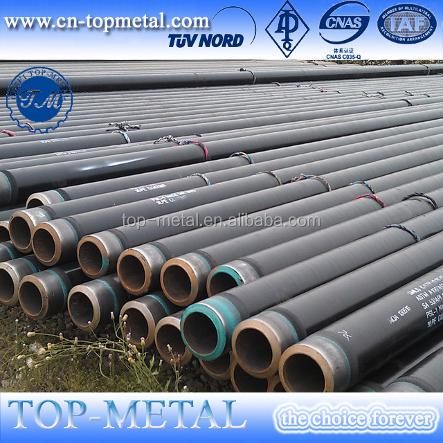 pipeline steel X52 3PE coated seamless steel pipe