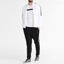 High Quality New OEM White Tracksuit Men Sports Gym Sets