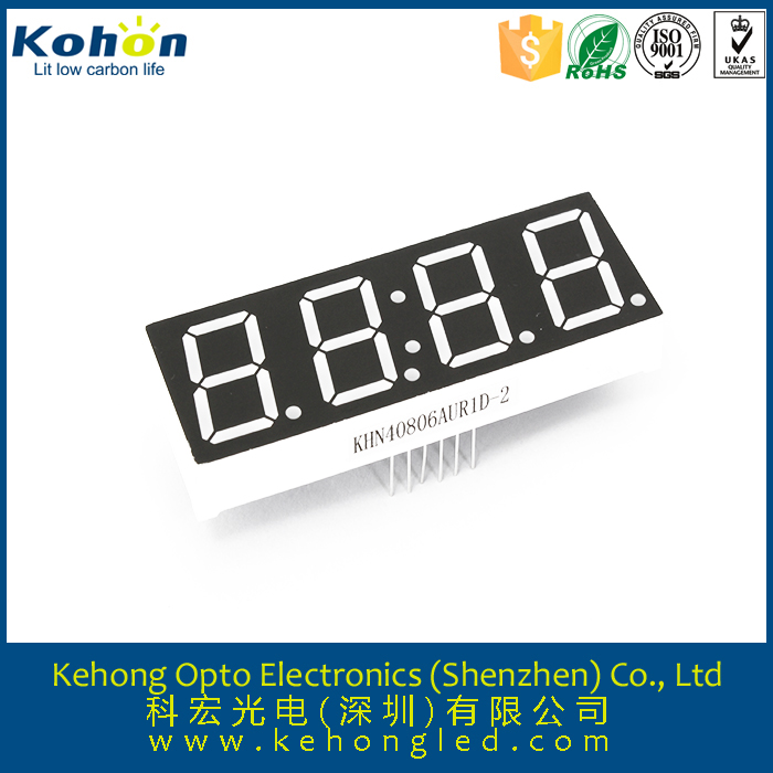 7 segment led display 4 digit p5mm xxx hd small led display indoor p7.62 digital led video xxx display