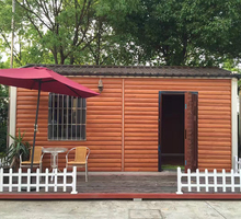 Insulated wood made in china kit homes modular house model price
