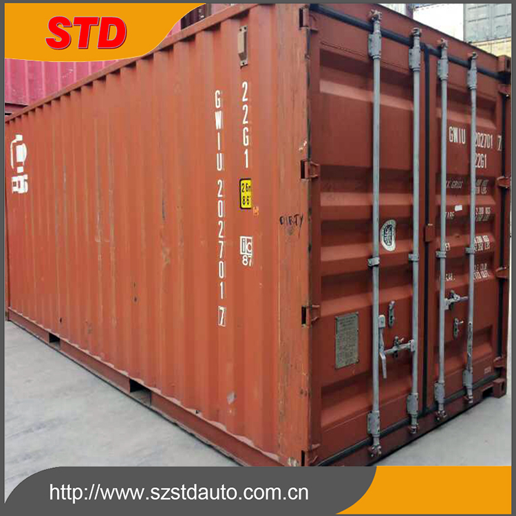 China 20' used shipping container/cargo container prices
