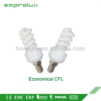 5W Full Spiral cfl light bulb with price Lamp