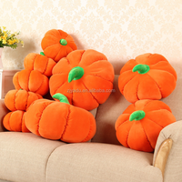 Creative personality pumpkin holding pillow stuffed with stuffed toys