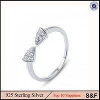 Free Sample Hande Made Jewelry 925 Sterling Silver Ring For Women