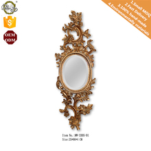 Wall Hanging Living Room or Bedroom Decoration Polyresin Cheap Mirrors