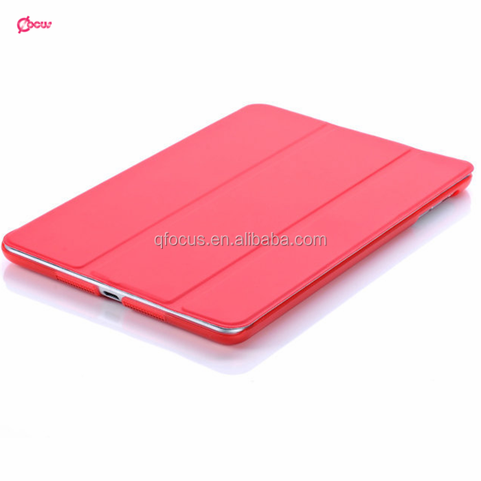 Ultra slim stand PU leather case For ipad mini 2 3 4 wake up cover