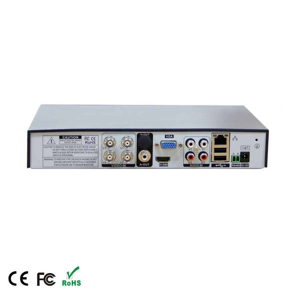 wholesales high quality 5in1 1080p p2p XMeye 4ch H.264 full HD cctv <strong>dvr</strong> for cctv Camera