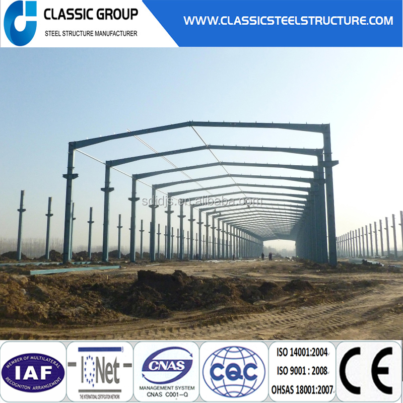 Factory Price Steel Structure Workshop and Prefabricated Steel Structure Building or Prefab Steel Structure Bridge for Sale