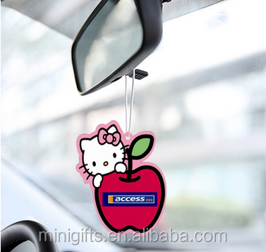 car air freshener paper/factory price paper car air freshener/fragrance paper air freshener