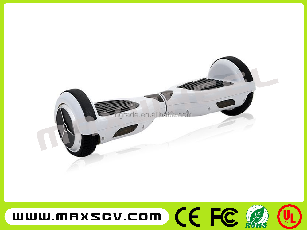 2016Max the New Hot sale self balancing scooter hover board 2 wheel mini portable