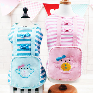 Japanese maid pet dog clothes,factory dog summer clothing